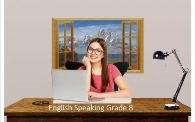 English Speaking Grade 8